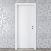 Porta da interno battente Hunk cemento calce 70 x H 210 cm sx