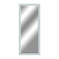specchio da parete rettangolare Sibilla bianco 50 x 135 cm