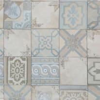 Carta da parati Mosaico azzurro 10 m