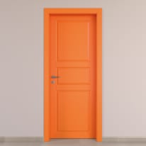 Porta da interno battente New York arancio 70 x H 210 cm dx