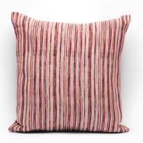 Fodera per cuscino Raya rosso 60 x 60 cm