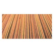 Tappetino cucina antiscivolo Deco stripes arancione 53 x 230 cm
