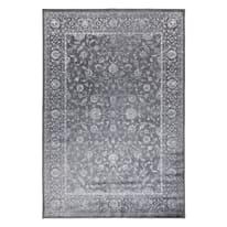 Tappeto Soraya grigio scuro 135 x 195 cm