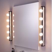 Luce da specchio Liz cromo 63 cm IP21