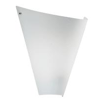 Applique Arpa bianco L 31 x H 33 cm