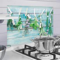 Sticker Kitchen Pannel Herbes