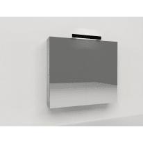 Specchio contenitore Key L 70 x H 62 x P  15 cm larice