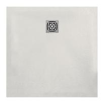 Piatto doccia resina Fusion 80 x 80 cm bianco