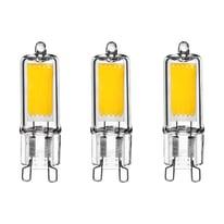 3 lampadine LED Lexman G9 =32W luce calda 360°