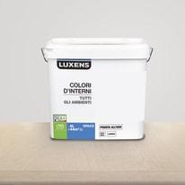 Idropittura lavabile Mano unica Grigio Dorato 6 - 4 L Luxens