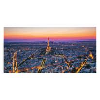 quadro su tela Violet Paris 40x80
