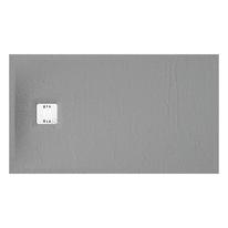 Piatto doccia resina Remix 80 x 140 cm grigio