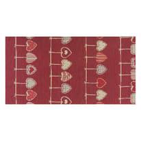 Tappetino cucina antiscivolo Deco cuore rosso 53 x 180 cm