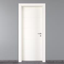 Porta da interno battente Prado bianco 60 x H 210 cm sx