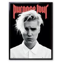 Stampa incorniciata Justin Bieber 30 x 40 cm