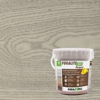 Stucco per fughe in pasta Fugalite Bio parquet grigio chiaro 3 kg