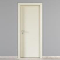 Porta da interno battente Wind ivory avorio 70 x H 210 cm dx
