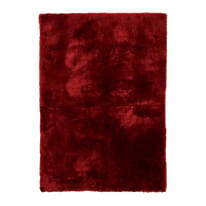 Tappeto Shaggy coccole rosso 60 x 120 cm