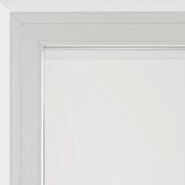 Tendina a vetro per portafinestra Siria bianco 75 x 230 cm