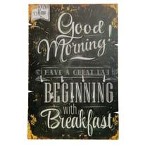 Bacheca porta chiavi Good Morning 7 posti Fantasia 20 x 30 x 1 cm
