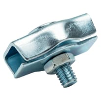2 morsetti simplex in acciaio zincato
