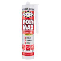 Colla per fissaggio e sigillature poly max cristal 300 gr Bostik 300 g