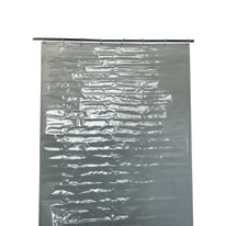 Tenda da sole ad anelli Cristal glass trasparente 150 x 350 cm