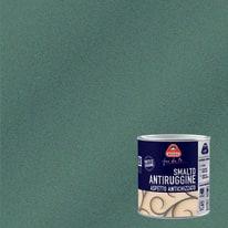 Smalto per ferro antiruggine Boero grigio chiaro grana grossa antichizzato 0,5 L