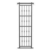 Grata blindata Basic grigio scuro L 80 x H 220 cm