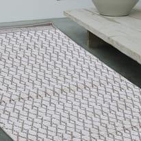 Tappeto Cotone bay grigio 140 x 200 cm