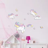 Foam L Lovely Unicorns