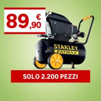 Compressore coassiale Stanley FatMax D 250/10/24S, 2.5 hp, pressione massima 10 bar