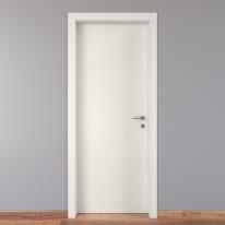 Porta per bed & breakfast battente Holiday bianco 80 x H 210 cm sx