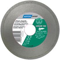 Disco diamantato per taglio ceramica a corona continua Ø 115 mm