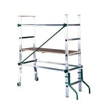Trabattello Facal Eurofirst in alluminio, per lavori fino a 2,9 m