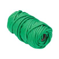 Treccia in polipropilene Ø 4 mm x 20 m verde