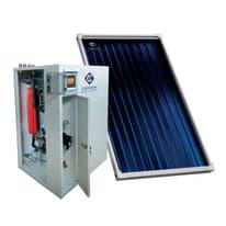 Impianto solare termico a circolazione forzata Costruzioni Solari Kss mini 200