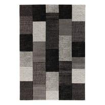 Tappeto Textures nero, grigio 160 x 230 cm