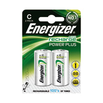 Pila ricaricabile al nichel metal idrato mezza torcia C Energizer