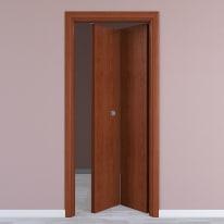 Porta da interno pieghevole Rose 80 x H 210 cm dx
