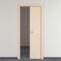 Porta da interno scorrevole Saint Germain grezza 60 x H 210 cm reversibile