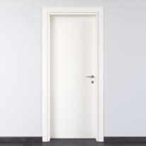 Porta per bed & breakfast battente Glasgow bianco 90 x H 210 cm sx