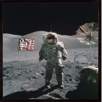 Stampa incorniciata Us Mission 1972 50 x 50 cm