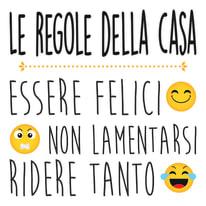 Words Up M Regole della Casa