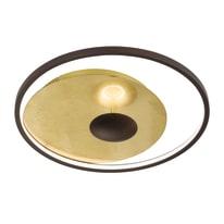 Plafoniera Catania oro L 60 x H 60 cm