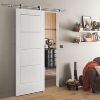 Porta da interno scorrevole Ribera 93 x H 212 cm reversibile