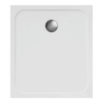 Piatto doccia resina Easy 90 x 80 cm bianco