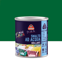 Smalto Boero all'acqua verde capri brillante 0.125 L