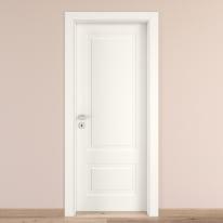 Porta da interno battente Shibuya bianco 60 x H 210 cm dx