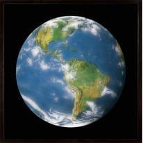 Stampa incorniciata Globe II 50 x 50 cm